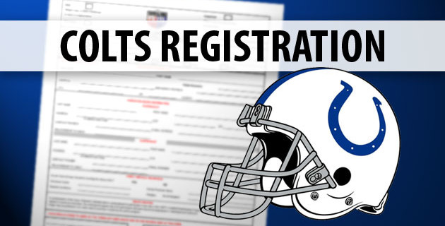 Westchase Colts 2015 Registration Dates Announced