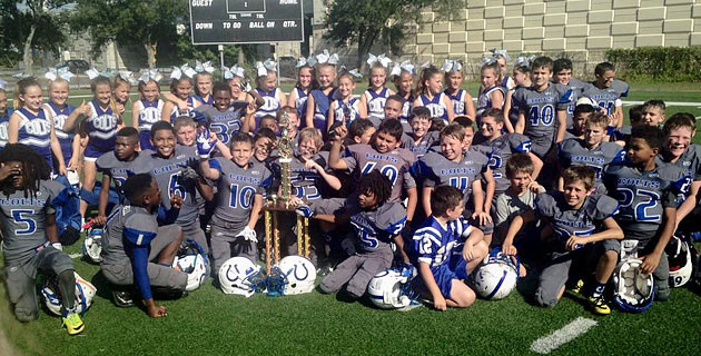 Colts Super Midgets and Midgets Take 2014 Super Bowl!
