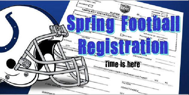 Spring Football Starts!